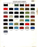 Chrysler UK 1966-71 paint colour chart small