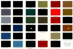 Humber Hillman Sunbeam Singer - Colour Range - small