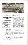 Motor Manual Road Tests Annual 1958 Humber Super Snipe brief review small