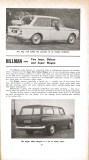 Motor Manual Road Tests Annual 1967 Hillman brief review 1 small