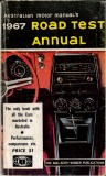 Motor Manual Road Tests Annual 1967 cover small