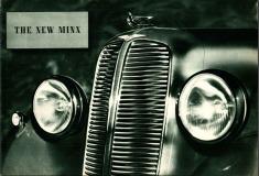 Hillman New Minx 1938 brochure