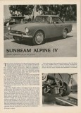 Road&Track 64-11 Sunbeam Alpine IV review small