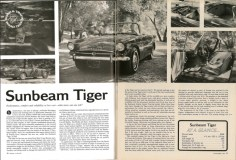 Road&Track 64-11 Sunbeam Tiger review small