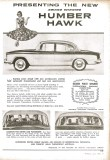 W5806 Humber Hawk advertisement small
