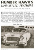 WRT3 Humber Hawk's Unruffled Feathers - review small
